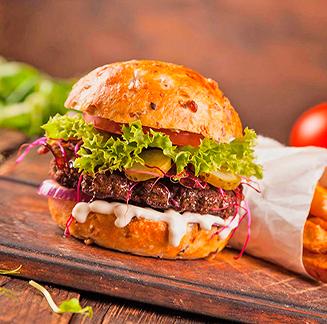 <b>BURGER </b></br>Burger wrap