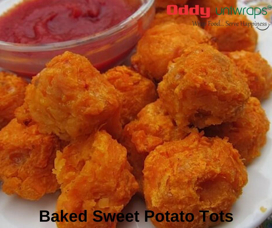 Baked Sweet Potato Tots