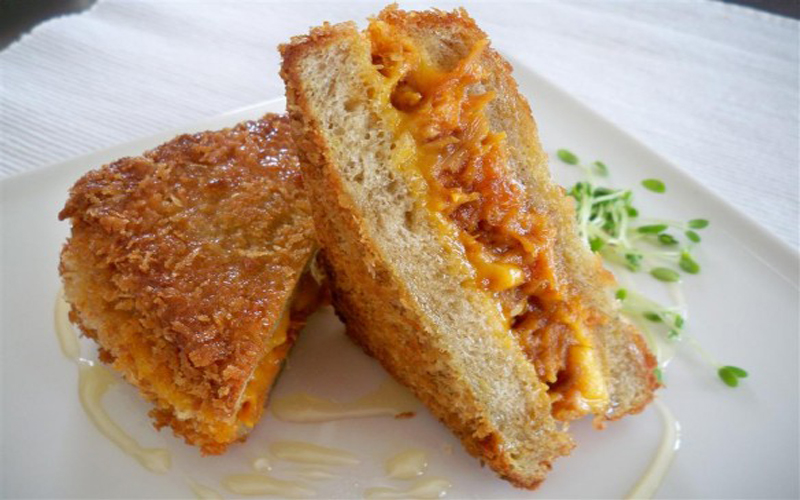 Fried Cheese Sandwiches by Chef Zakir Qureshi
