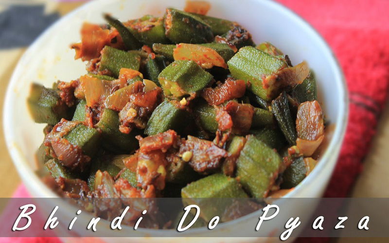 Bhindi do pyaza by Harpal Singh Sokhi