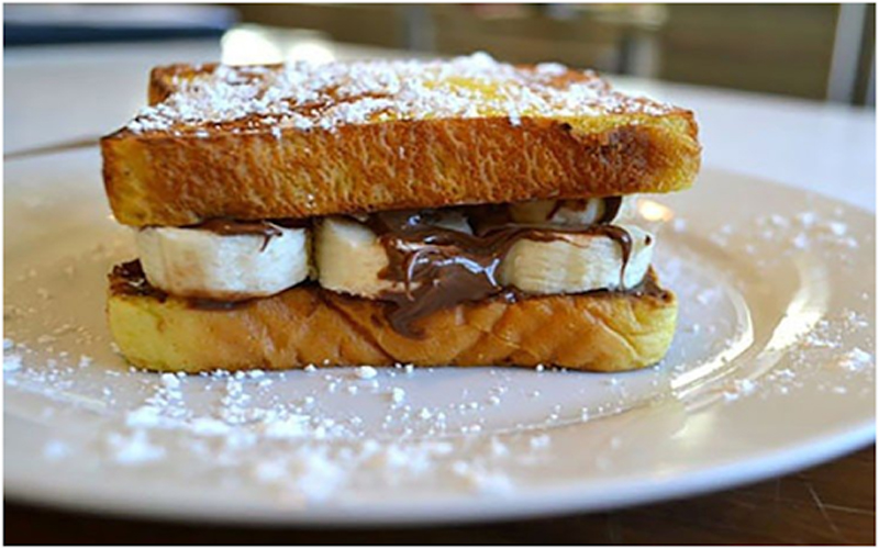 Banana Nutella SANDWICH