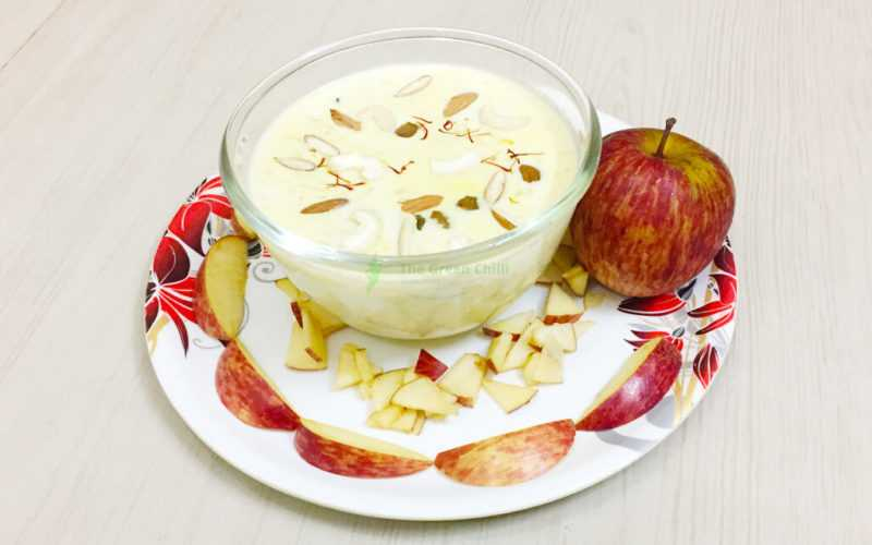 Apple Rabdi Recipe