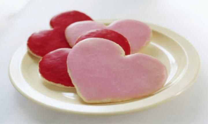 Love Heart Cookies