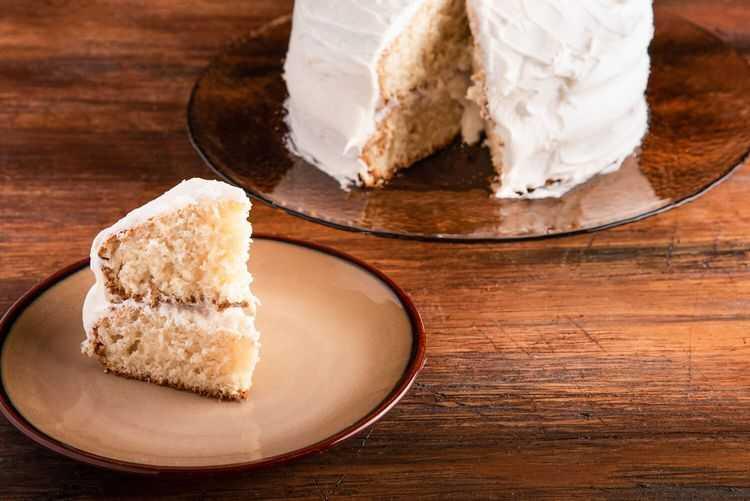 Jazz up sponge cake