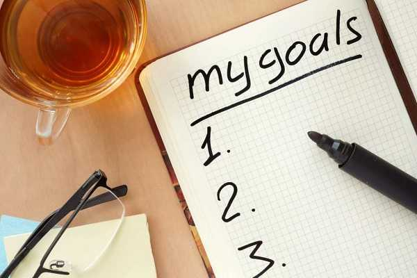 Set goals that you believe in
