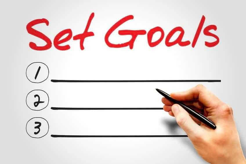 Set the goals that are significant