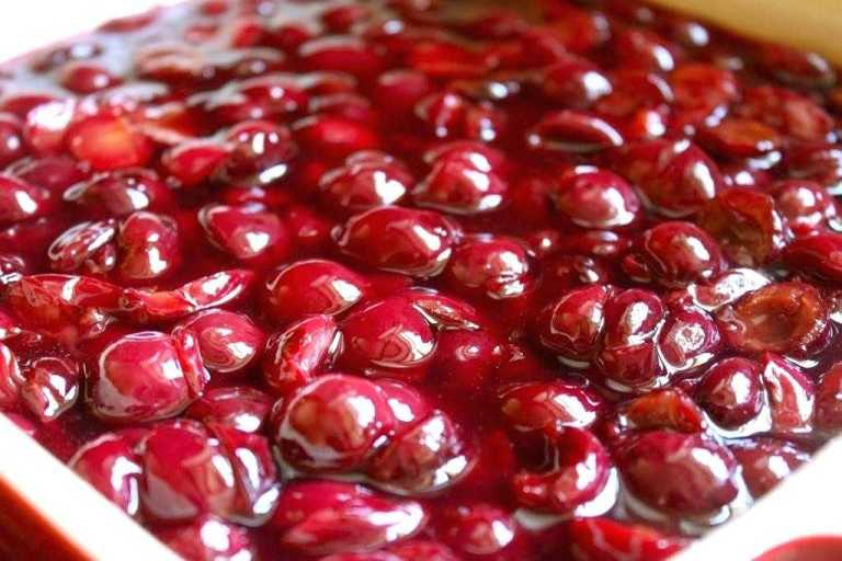 Cherry Pie Filling Recipe