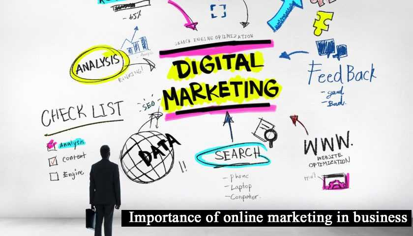 Importance of online marketing in business