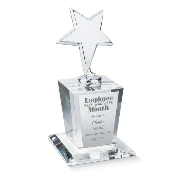 Unforgettable and Personalized Recognition Award